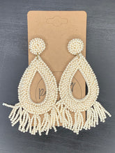Load image into Gallery viewer, Beaded Tassel Earrings