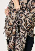 Load image into Gallery viewer, Leopard Shawl