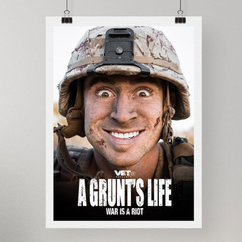 A Grunts Life Poster