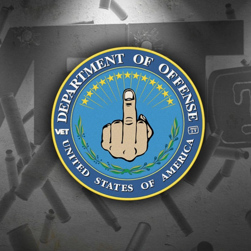 Dept. of Offense Sticker