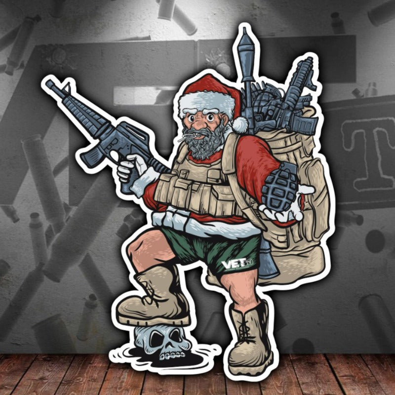 Uncle Santa Sticker