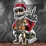 Salty Santa Sticker