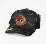 VetTV Circle Leather SnapBack
