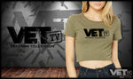 VET Tv Crop Top