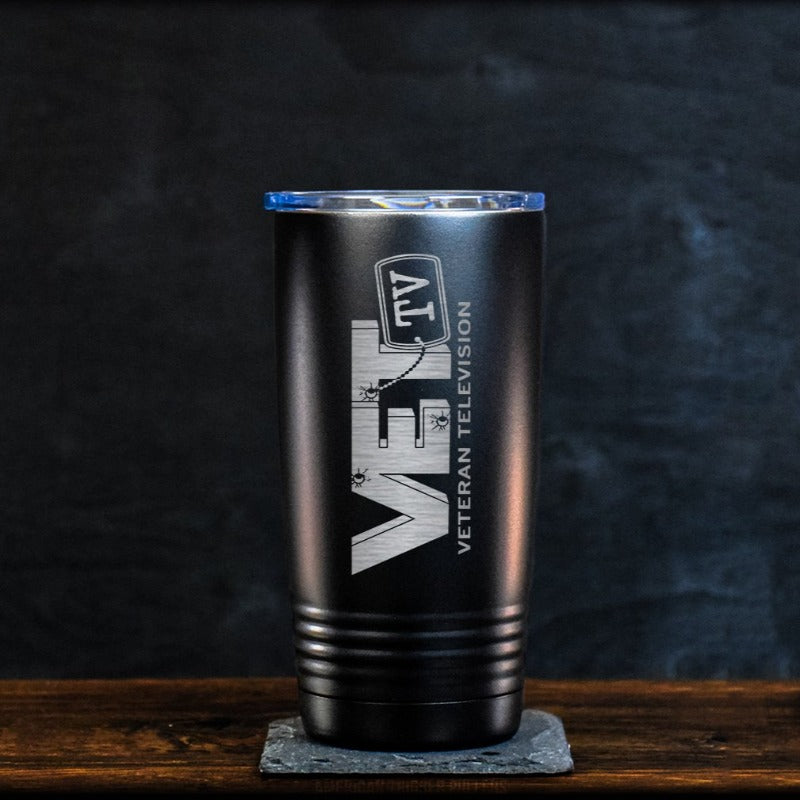 VET Tv Travel Mug