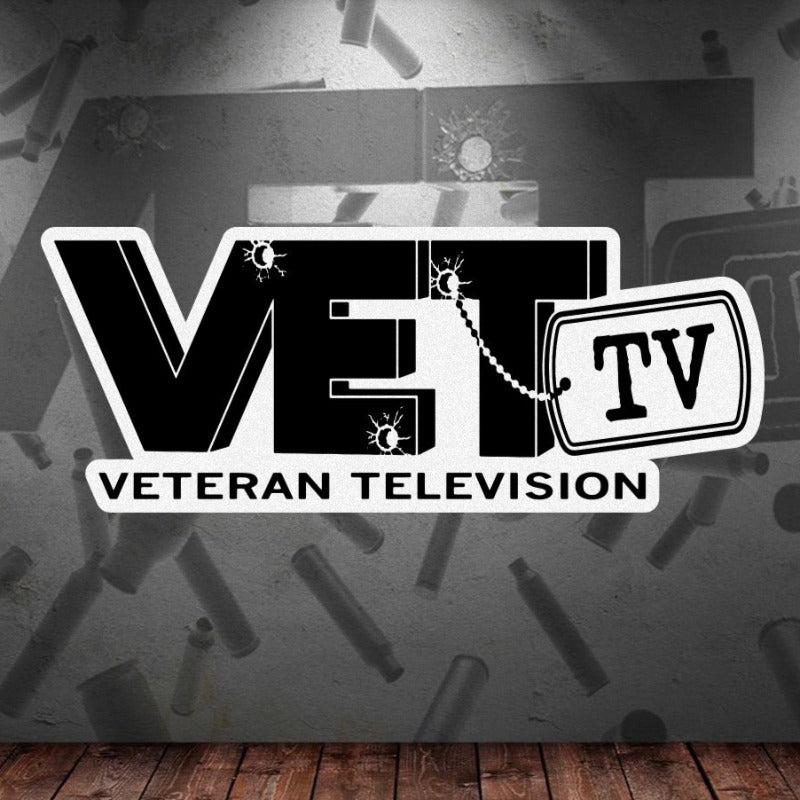 VET Tv Logo Sticker