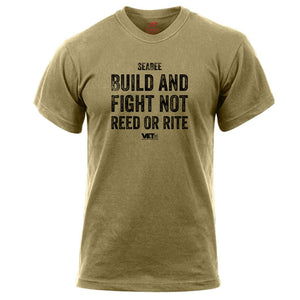 SeaBee Build and Fight Tee