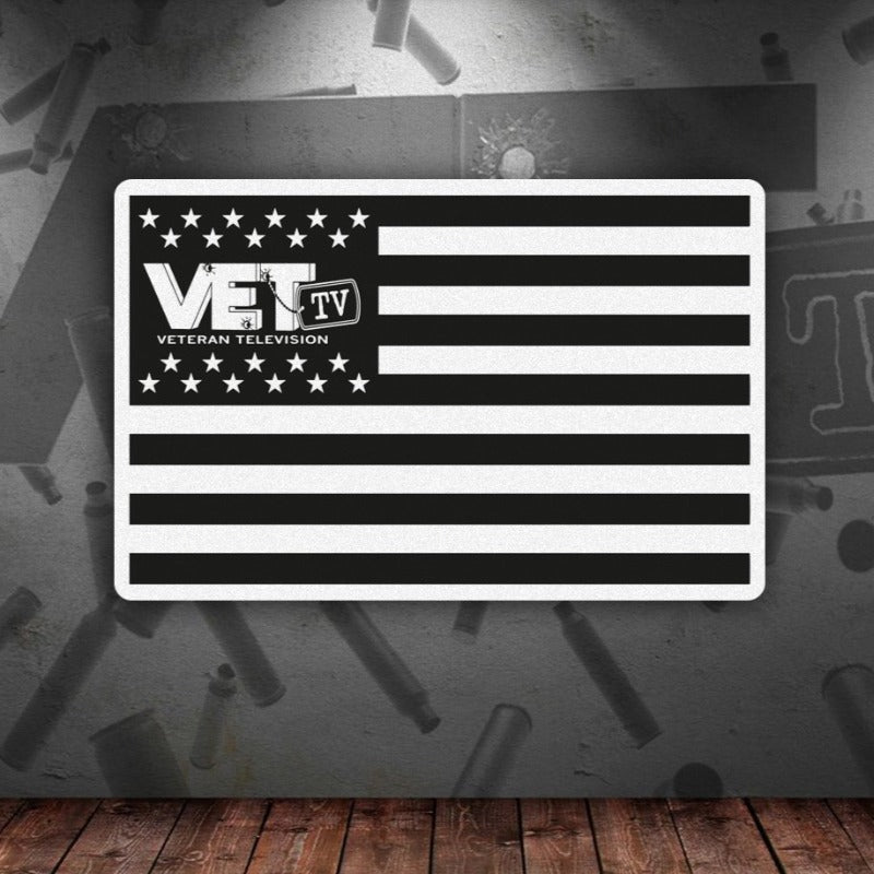 VET Tv Flag Sticker