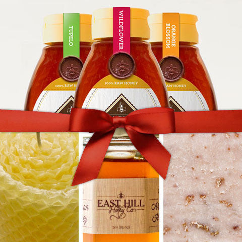 Premium Raw Honey Gift Set