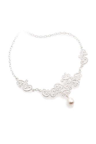 "Collier ""Figaro"" - Silber"