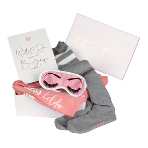 Geschenkbox Brautjungfer | Pyjama Party