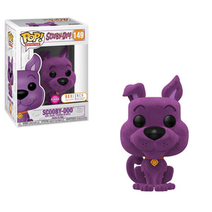 Scooby Doo Purple Flocked Exclusive