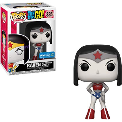 Raven as Wonder Woman Exclusive