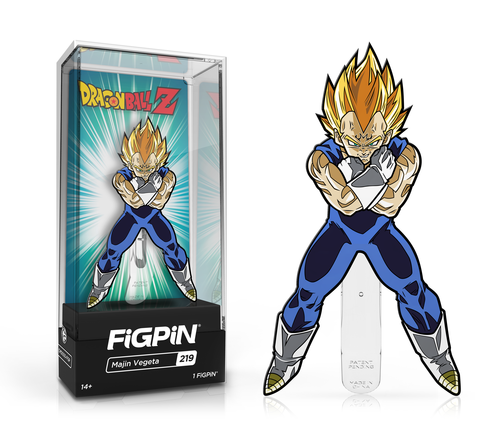 Majin Vegeta Exclusive FiGPiN #219