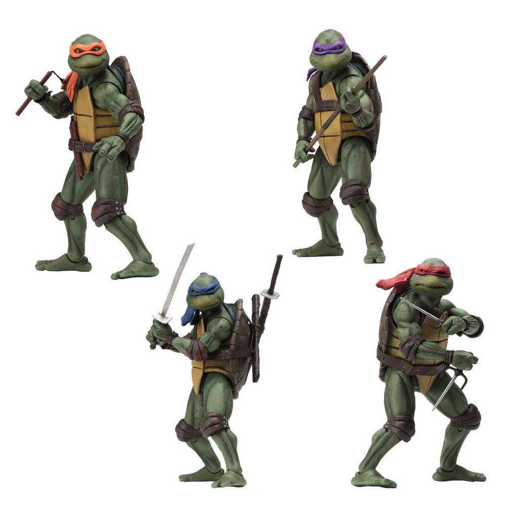 90's Teenage Mutant Ninja Turtles Set of 4