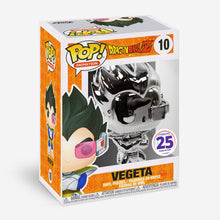 Load image into Gallery viewer, Vegeta Silver Chrome  *Damaged Box*