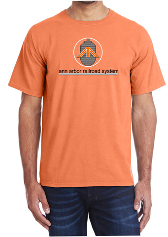 Ann Arbor Railroad System Faded Glory Shirt
