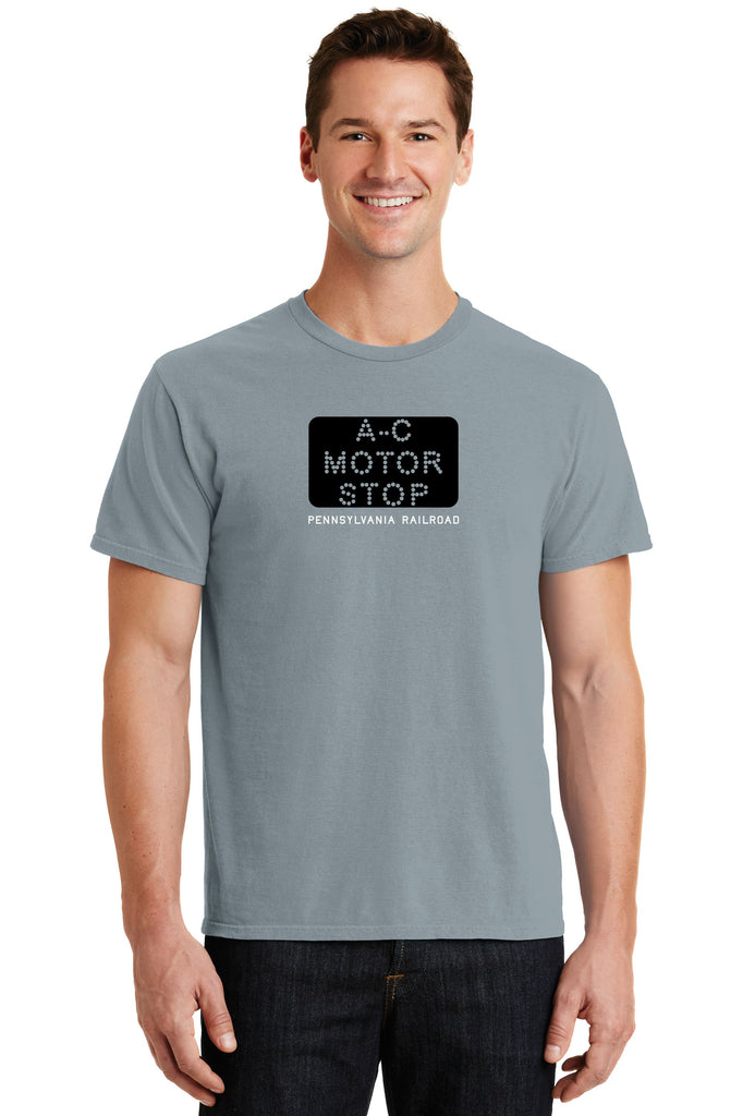 AC Motor Stop Faded Glory Shirt
