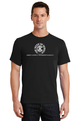 Akron Canton & Youngstown Railroad Steam Logo Shirt