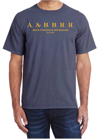 Akron & Barberton Belt Railroad Logo Shirt