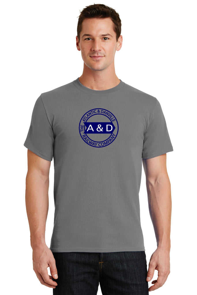Atlantic and Danville (A&D) Railway Logo Shirt