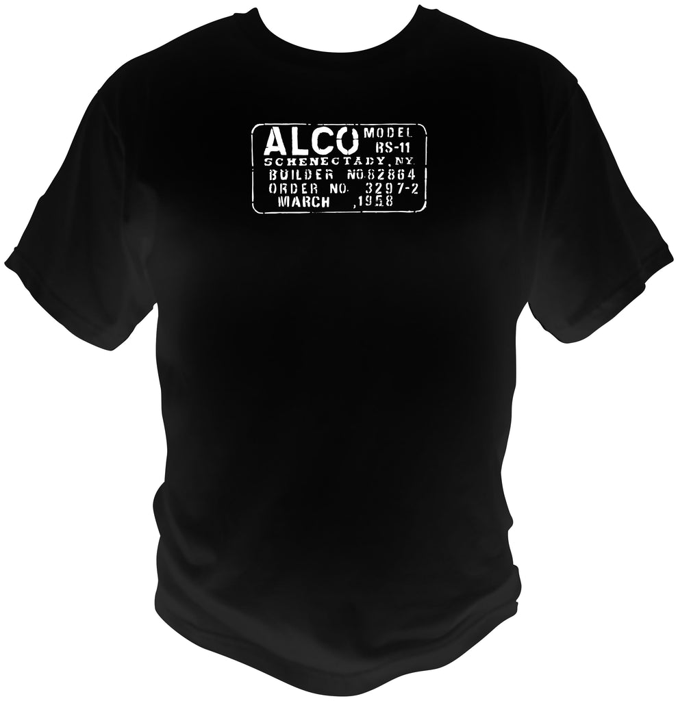 Alco - American Locomotive Co. Builders Plate Logo Shirt