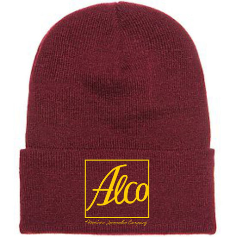 Alco Logo Embroidered Toboggan