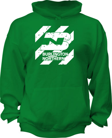 Burlington Northern (BN) Retro Nose Logo Hoodie