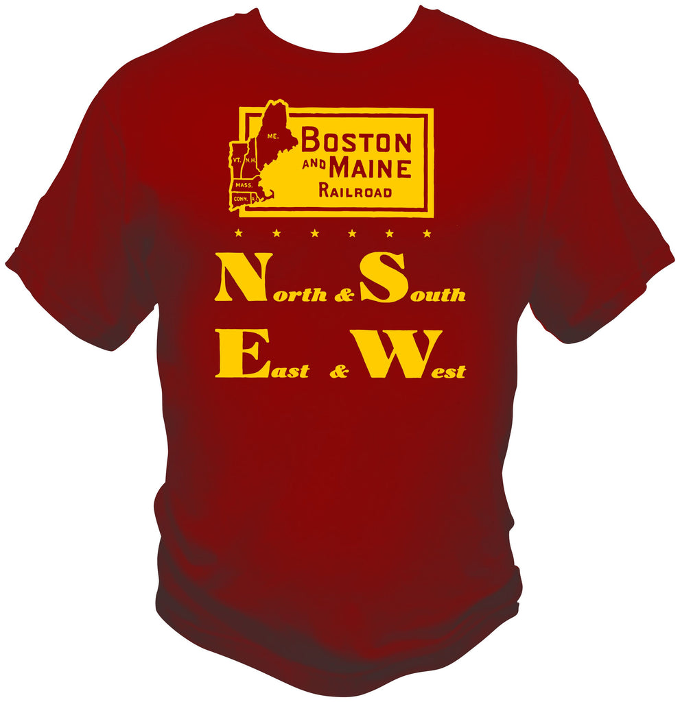Boston & Maine Railroad Logo Shirt