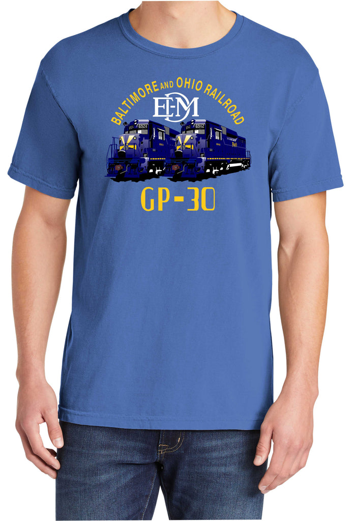 Baltimore and Ohio GP-30 Faded Glory Shirt