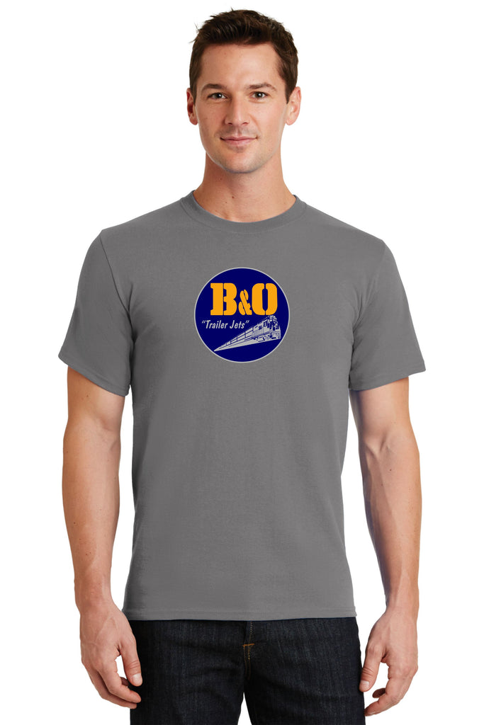 "B&O Railroad ""Trailer Jet"" Logo Shirt"