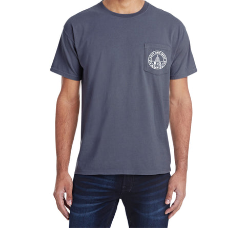 Baltimore and Ohio Railroad Pocket Tee Faded Glory Shirt