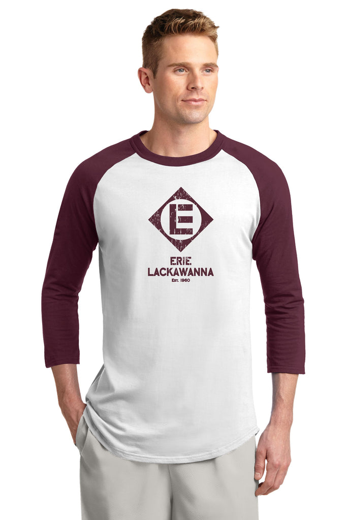 Erie Lackawanna Est. 1960 Baseball Shirt