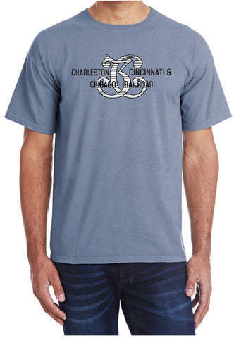 Charleston, Cincinnati & Chicago Railroad Faded Glory Shirt