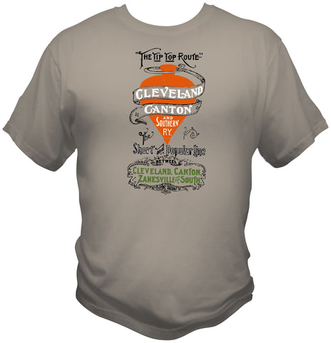 Cleveland, Canton and Southern Railway Faded Glory Shirt
