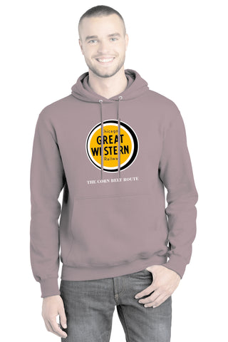 Chicago Great Western Railway Logo Hoodie