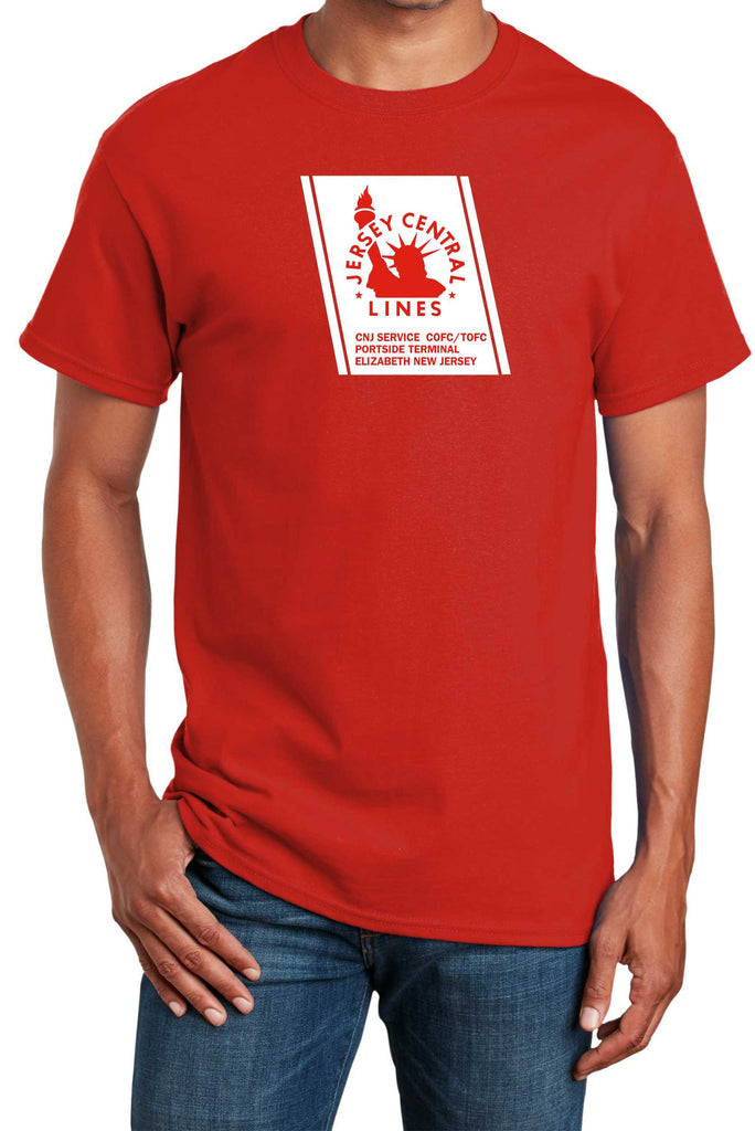 "Central RR of New Jersey (CNJ) ""Red Baron"" Logo Shirt"