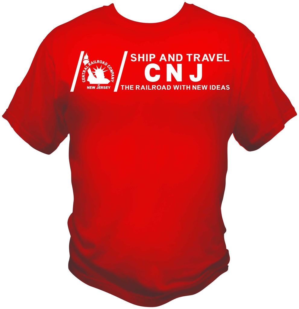 Central RR of New Jersey (CNJ) Ship and Travel Shirt