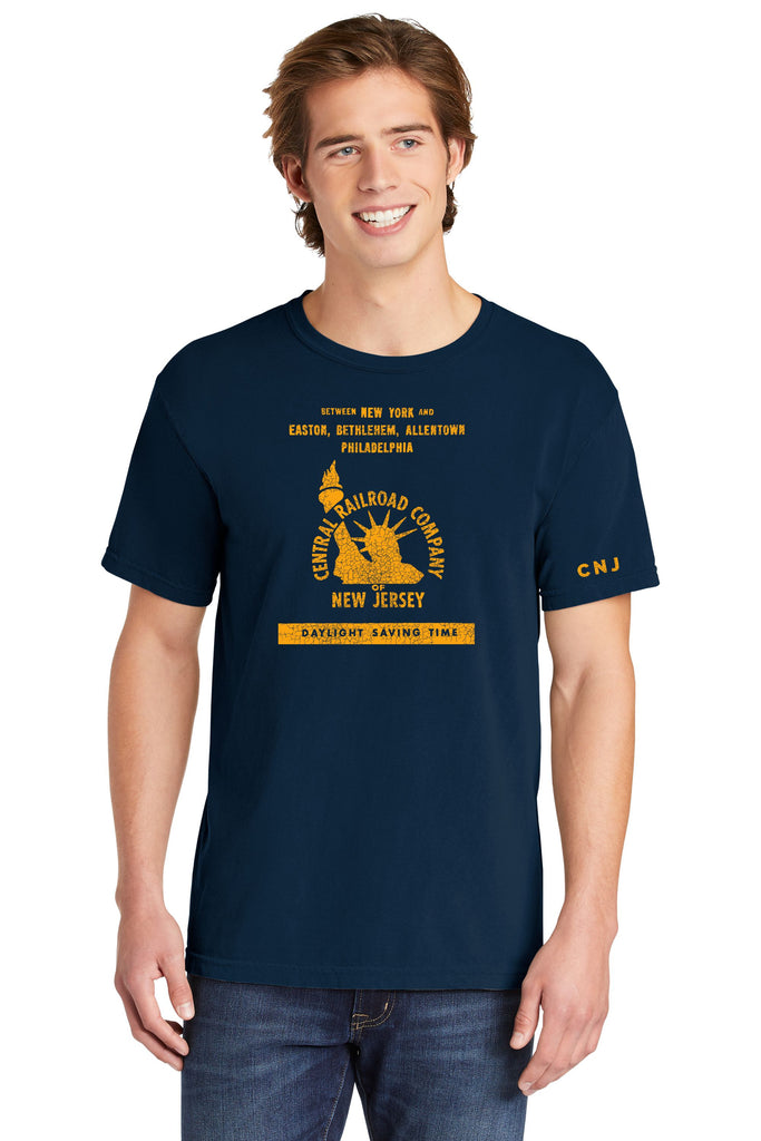 Central Railroad Company of New Jersey Faded Glory Shirt