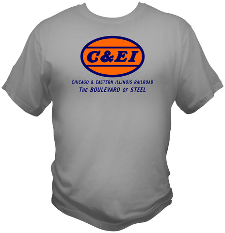 "Chicago & Eastern Illinois (C&EI) ""Boulevard of Steel"" Shirt"