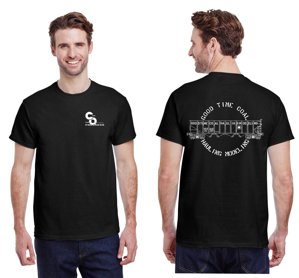 C&O Railway  Good Time Coal Hauling Hopper Shirt