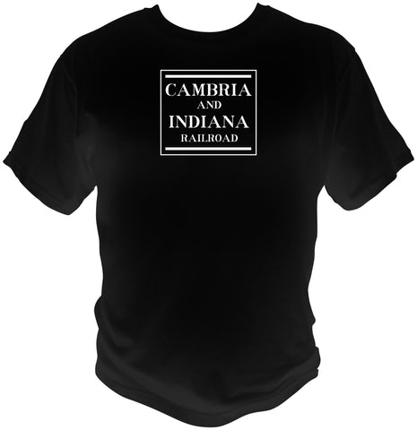 Cambria & Indiana Railroad Freight Car Logo Shirt