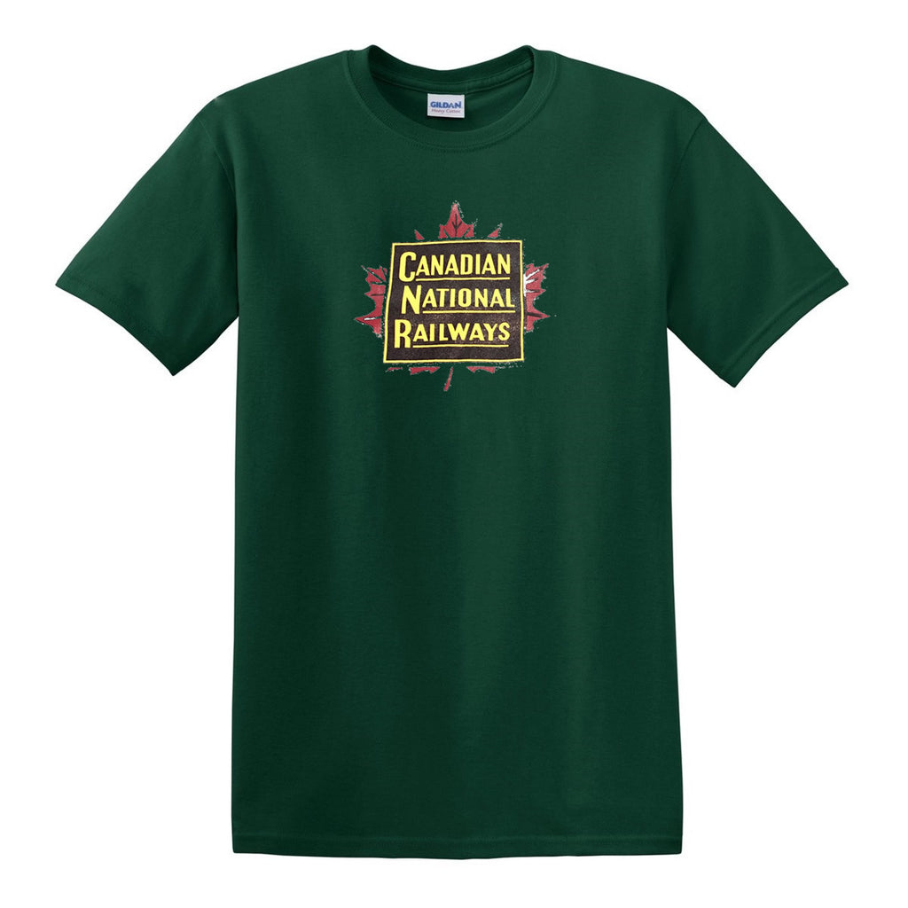 Canadian National Railways - Maple Leaf Shirt