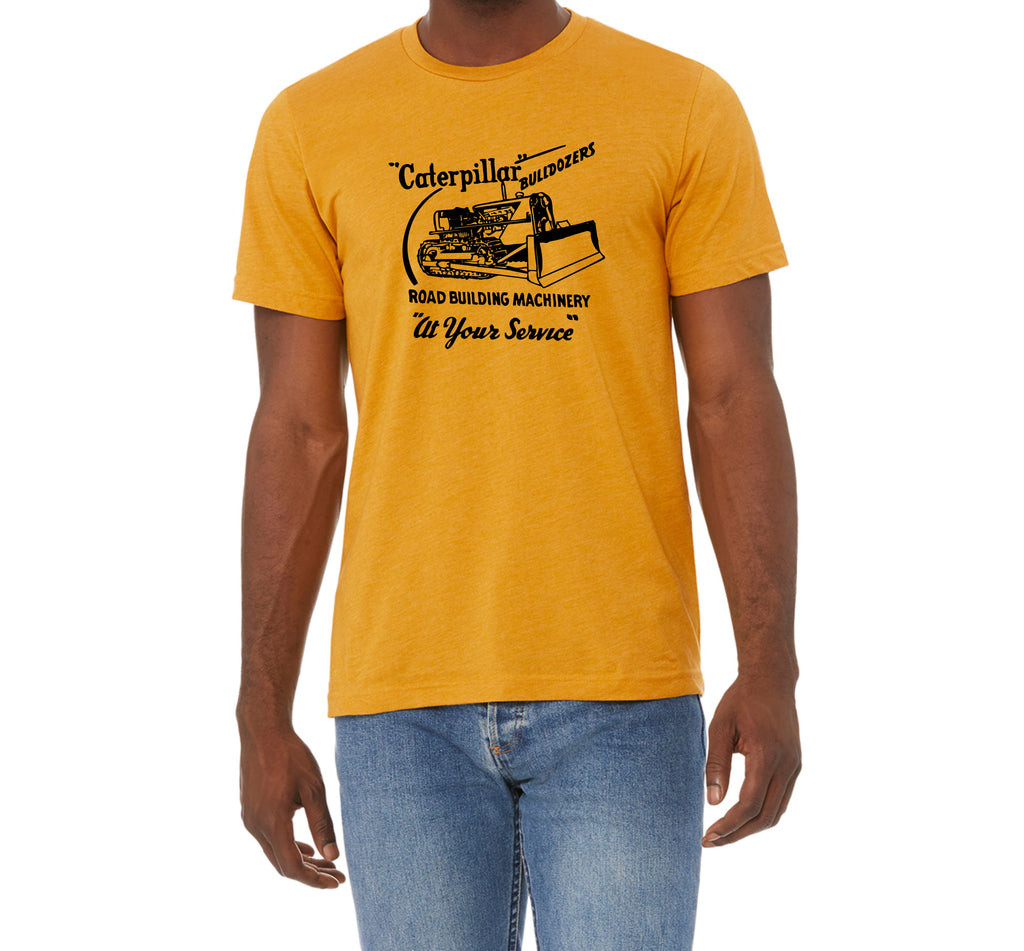 Caterpillar Bulldozer Faded Glory Shirt