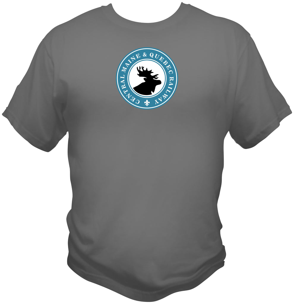 Central Maine & Quebec Railway Logo Shirt