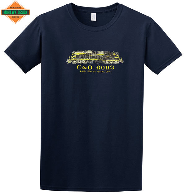 Chesapeake & Ohio (C&O) Railway GP-9 Shirt