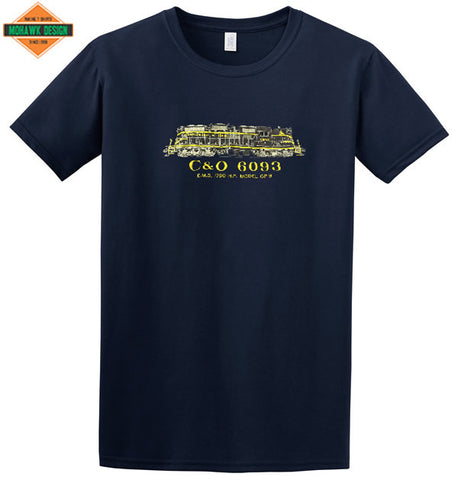 Chesapeake & Ohio Railway GP-9 Shirt
