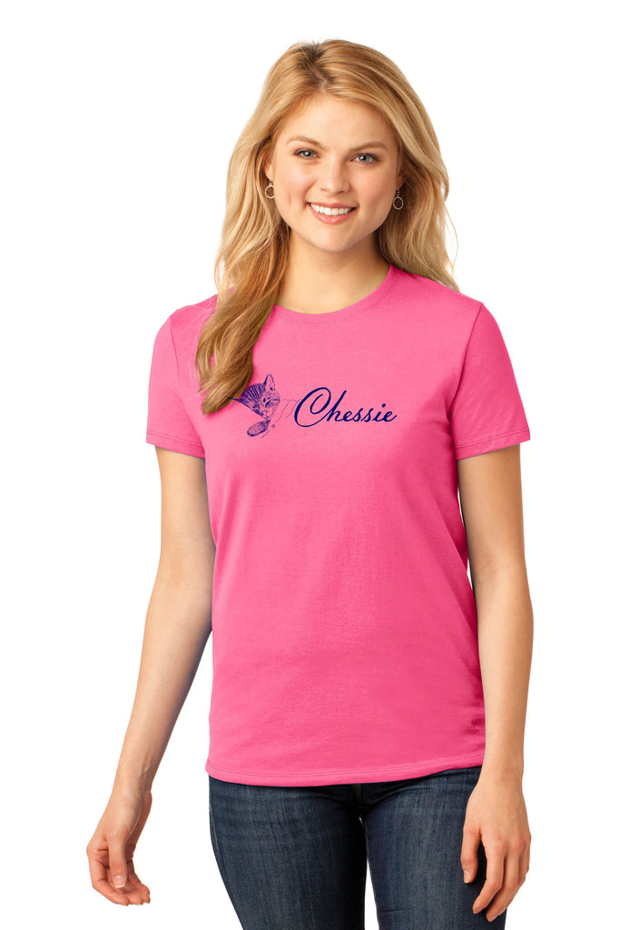 Classic Chessie Cat Ladies Shirt