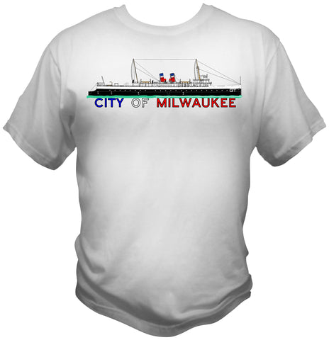 City of Milwaukee Railroad Car Ferry Shirt