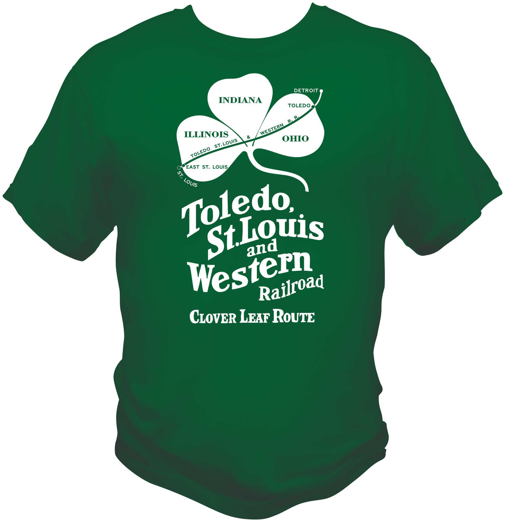 Clover Leaf Route Logo Shirt